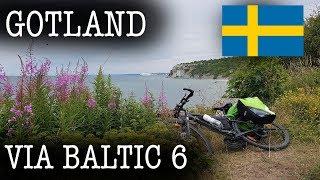 """Велопоход вокруг Балтики 2019. """"Via - Baltic"""". Швеция, Готланд. Фильм шестой. Велопутешествие."""