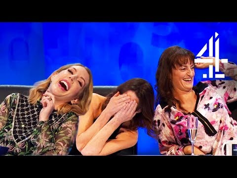 LOSING IT Over Phrase Every Woman Should Have In Their Vocabulary?  8 Out of 10 Cats Does Countdown