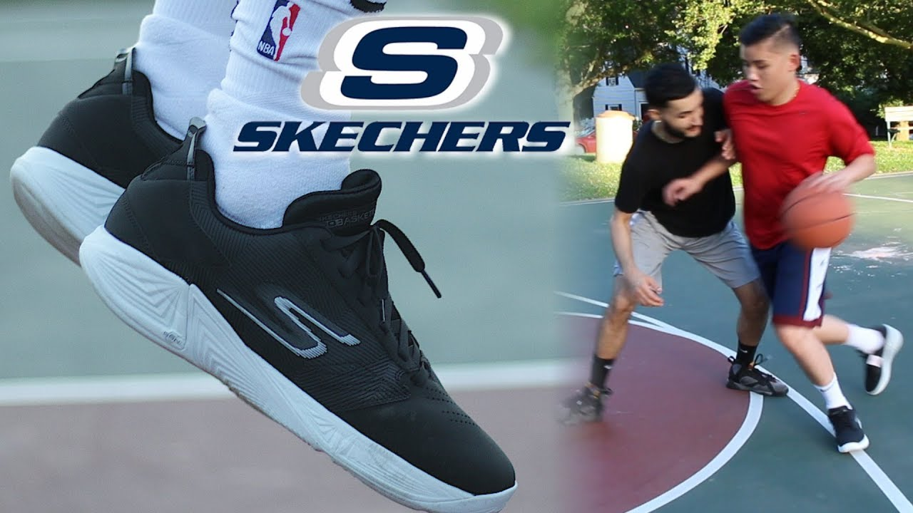 personal Alegre Especializarse  Testing Skechers Basketball Shoes! Are they even good? - YouTube