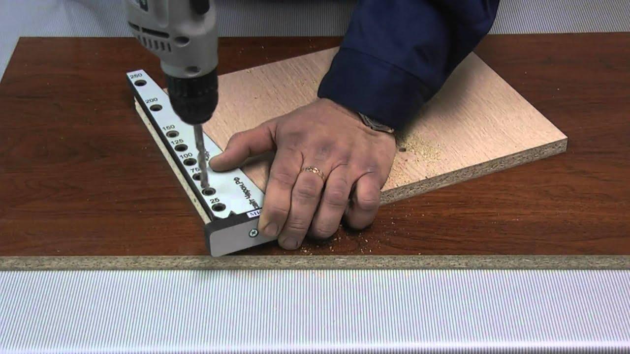 Как изготовить мебельный кондуктор своими руками