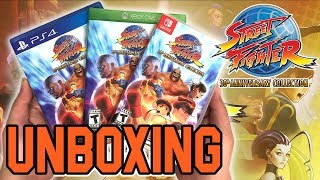 Street Fighter 30th Anniversary Collection (PS4/Switch/Xbox One) Unboxing!!