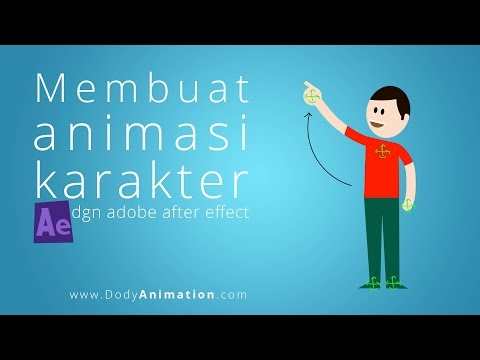 Membuat animasi karakter dgn after effect
