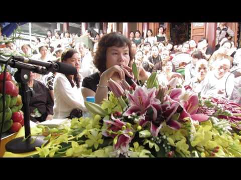 Bà Phan Thị Bích Hằng giảng tại chùa Phúc Khê - Hà Đông 3
