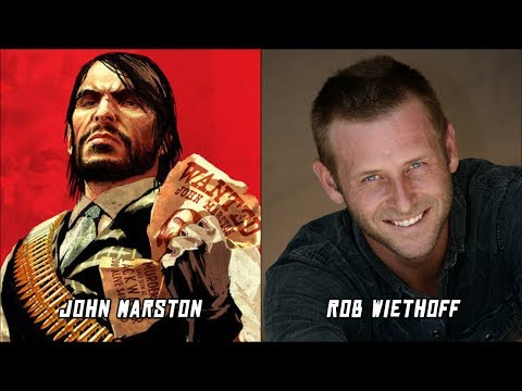 Red Dead Redemption Characters Voice Actors