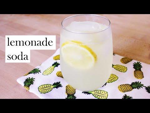 Homemade Lemonade Soda - Drink Week