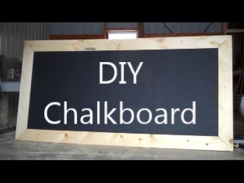 🕷DIY Chalkboard