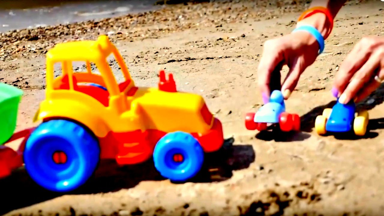 voitures jeux dans le sable construisons une station d 39 essence youtube. Black Bedroom Furniture Sets. Home Design Ideas
