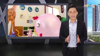 NHỊP SỐNG TRẺ HTV7 Đưa tin về trường Mầm Non Hoa Mặt Trời