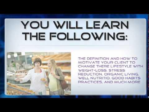 Wellness Coach Certification Online - YouTube