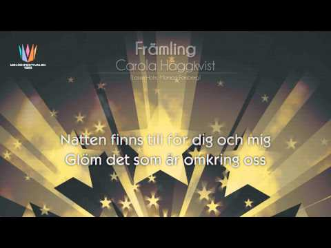 "[1983] Carola - ""Främling"" [Karaoke version]"