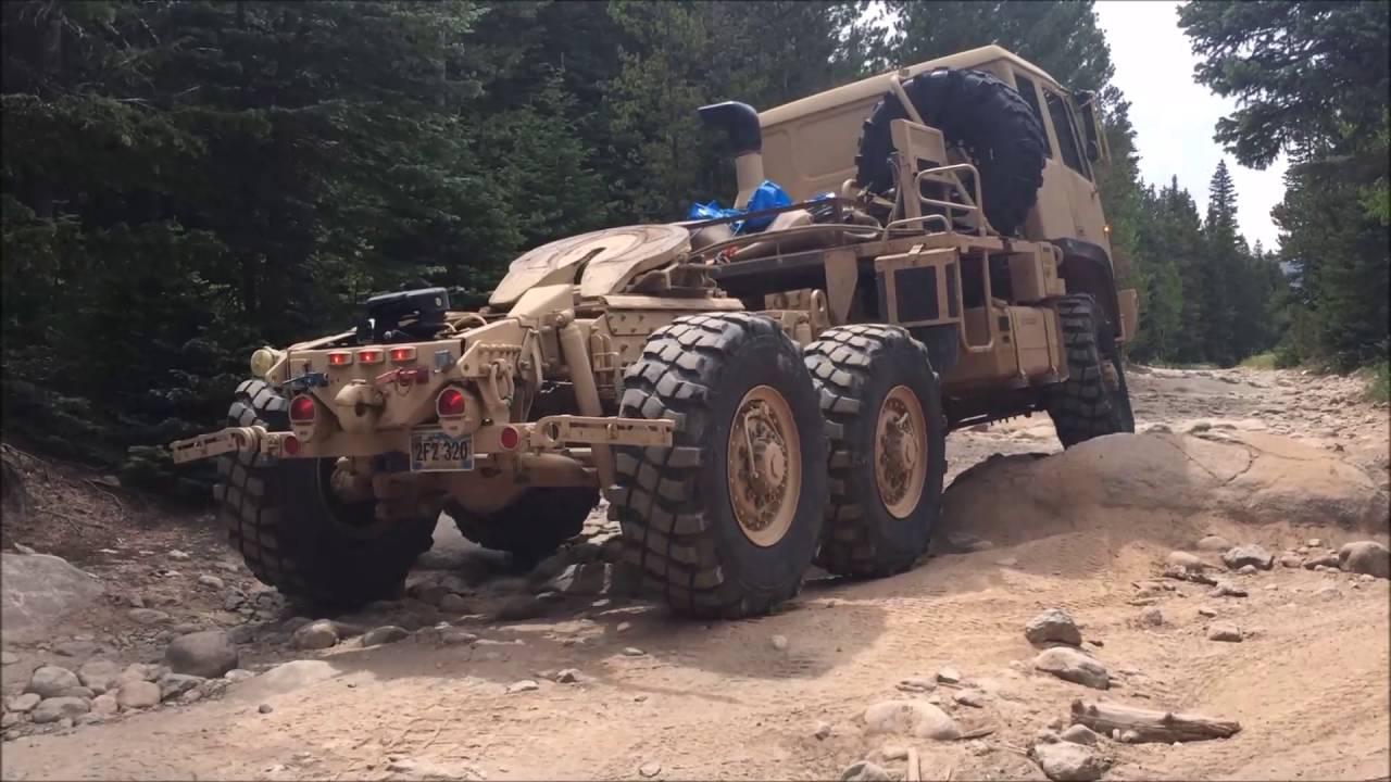 M1088, 6x6, FMTV, Stewart and Stevenson miltary truck
