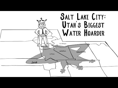 Salt Lake City - Utah's Biggest Water Hoarder