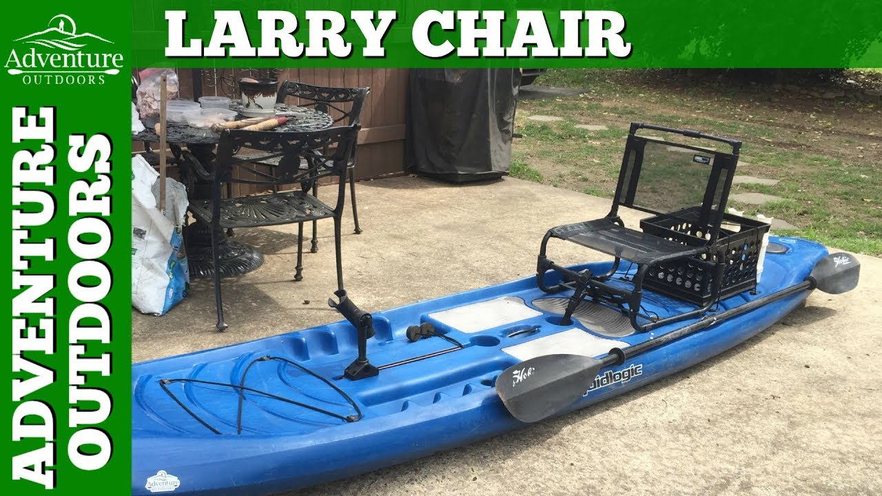larry chair kayak twin sleeper with storage ottoman the for my paddle board fishing setup youtube