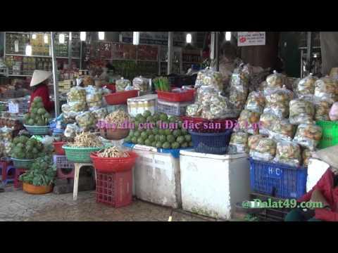 Chợ Đà Lạt ban ngày - 2016