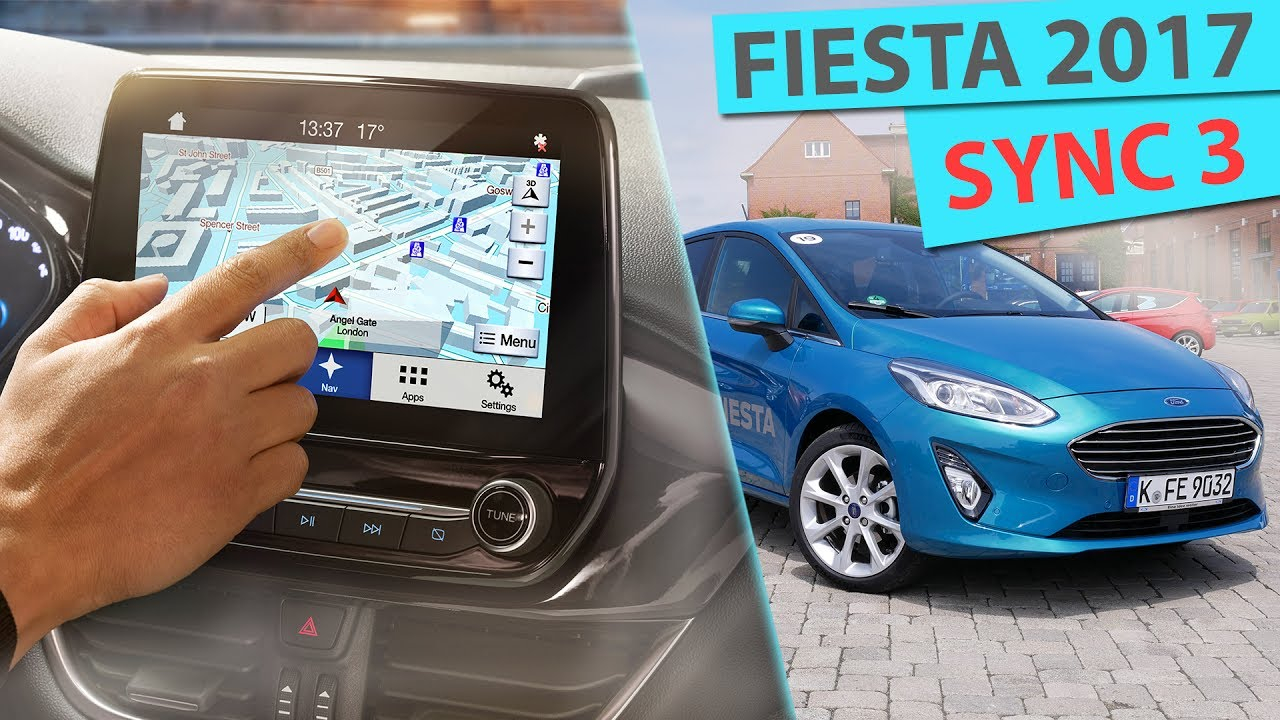ford fiesta 2018 sync 3 mit applink und android auto deutsch youtube. Black Bedroom Furniture Sets. Home Design Ideas