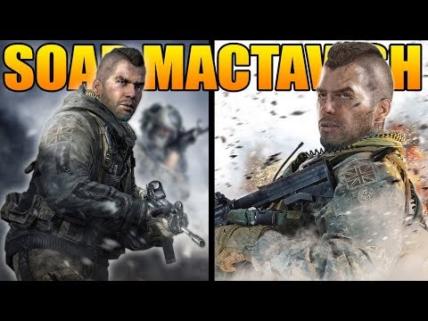 The Full Story of Soap MacTavish (Modern Warfare Story)
