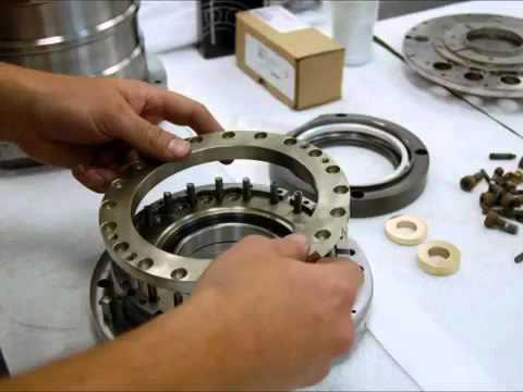 Franz Kessler HSK63 Spindle Repair - High Speed Technologies