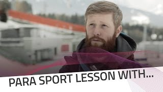 A lesson with Filips Bernadskis | IBSF Para Sport Official