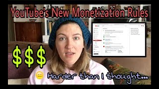 YouTube's New Monetization Rules! Not just anyone can make money anymore. | Kelsey_tube
