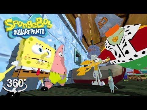 "Spongebob Squarepants! - 360° ""I'm A Goofy Goober!"" - (The First 3D VR Game Experience!)"
