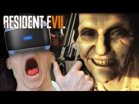 Resident Evil 7: VR - TERRIFIED & FIGHTING FOR MY LIFE | Part 2