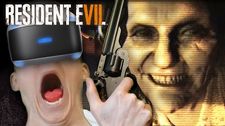 Resident Evil 7: VR - TERRIFIED & FIGHTING FOR MY LIFE | Part 2