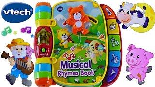 VTech Libro Con Rimas Musicales Aprende Mas De 40 Canciones Enseñanco Colores Para Niños