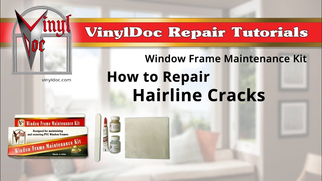 repair hairline cracks