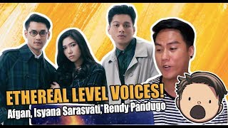 Afgan Isyana Sarasvati Rendy Pandugo Lagu Cinta Official Music Video REACTION