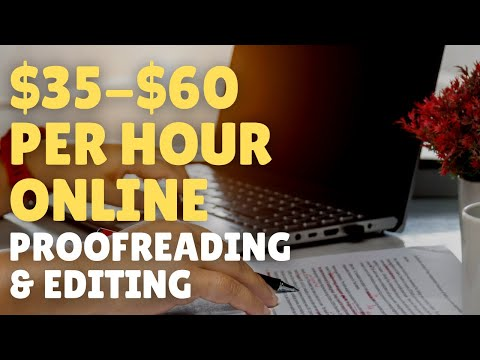 Work-From-Home Proofreading Jobs That Pay $35/Hour 2021