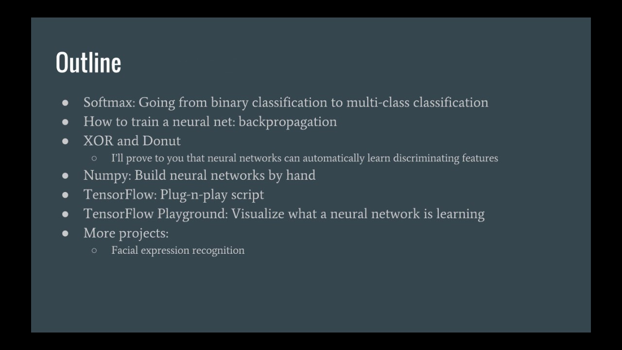 Deep Learning in Python Intro