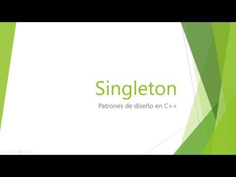 Singleton - Patrones de diseño en C++