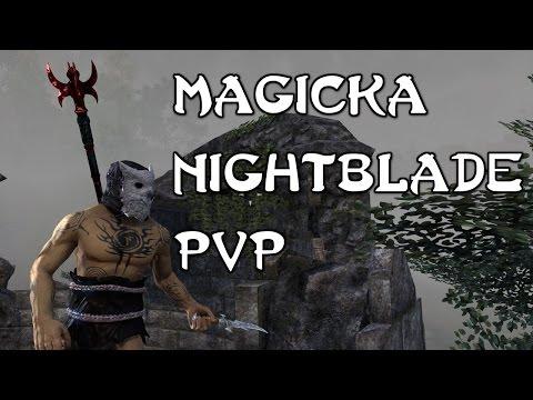 Solo Magicka Nightblade - Crazy PvP Build!  