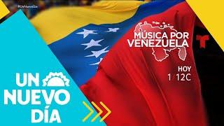 Miles esperan el comienzo del 'Venezuela Aid Live'   Un Nuevo Día   Telemundo