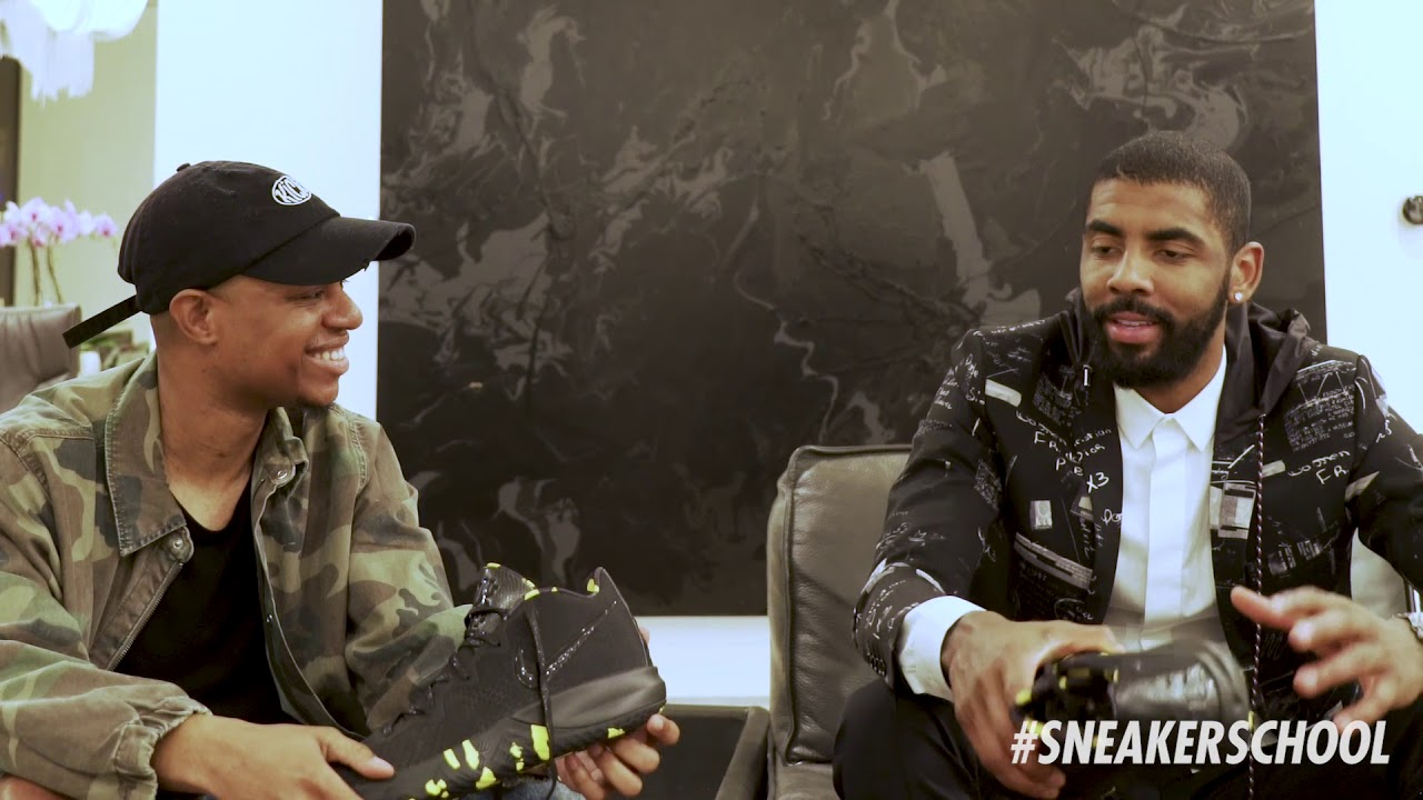 1ed5a5ce585d8 EXCLUSIVE SNEAK PEAK   KICK N IT WITH KYRIE IRVING part 1 - YouTube