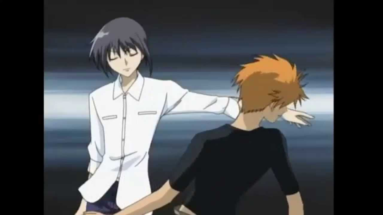 Fruits Basket Kyo And Yuki Fighting Yuki vs: Kyo - YouTube