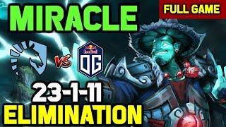 OMG! Miracle Storm Spirit eliminates OG from Paris Major with ENDGAME RAMPAGE