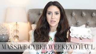 Big Designer Haul Judged By My Sister | Cyber Weekend Edition