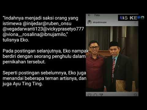 Ayu Ting Ting Raffi Ahmad Nikah Siri Eko Patrio Posting Foto Waktu Jadi Saksi Nikah