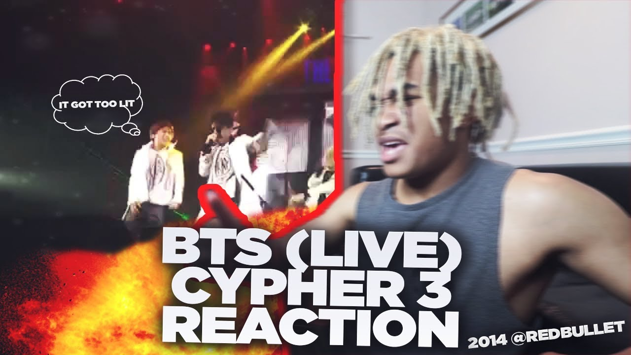 BTS (방탄소년단) CYPHER PT 3 LIVE AT THE RED BULLET - REACTION   IT GOT TOO  LIT!!! 🔥
