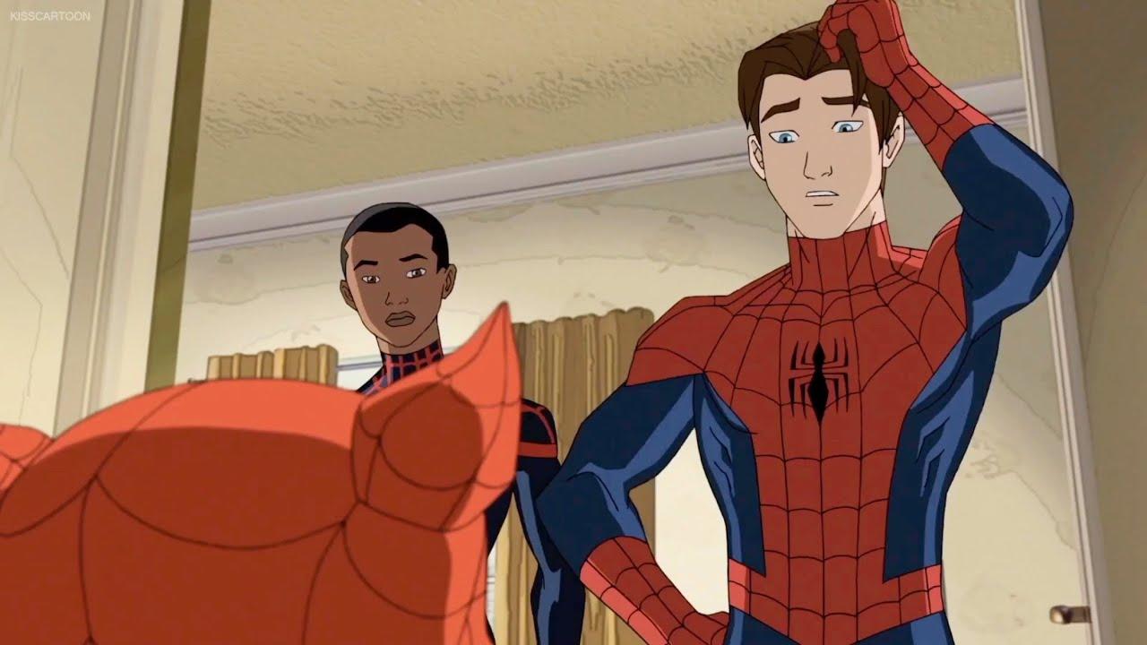 Miles Morales Meets Spider-Man | Ultimate Spider-Man Season 4