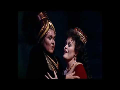 Semiramide - Giorno d'orror... Madre addio... Tu serena (J. Anderson, M. Horne, Met 1991)