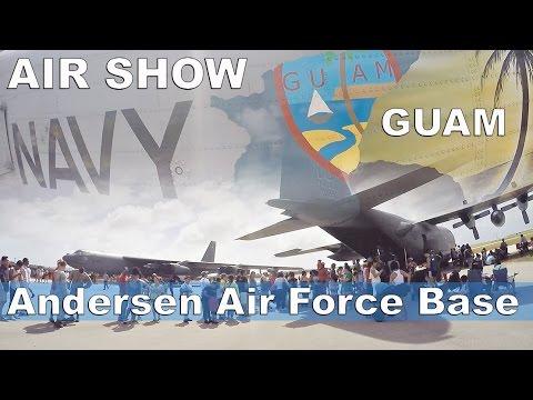 GUAM, Andersen Air Force Base - Air Show 2016.