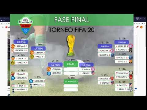 Torneo Oficial CD Pablo iglesias / cuartos de Final Fifa ...