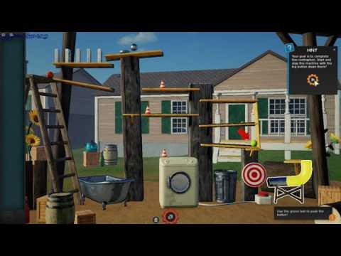 Crazy Machines 3 gameplay - GogetaSuperx |