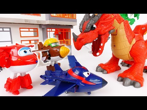Thumbnail: Evil Dragon Alert~! Go Super Wings Defeat The Red Dragon