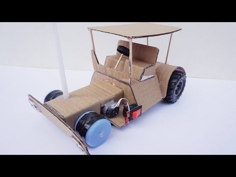 How To Make Electric Toy Car Diy Powered Tractor Very