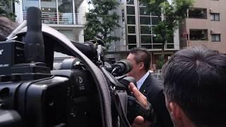 NHK会長は逃亡 かようまりのさんと だいたい毎日寝ているという 立花孝志さんが 渋谷 NHK本部に突撃しました