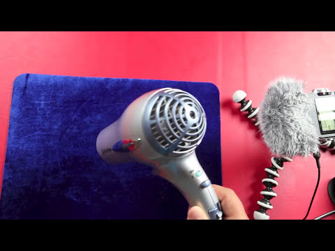 Relaxing Hair Dryer Sound.. 2hrs ASMR
