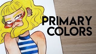 Draw With Me | PRIMARY COLORS
